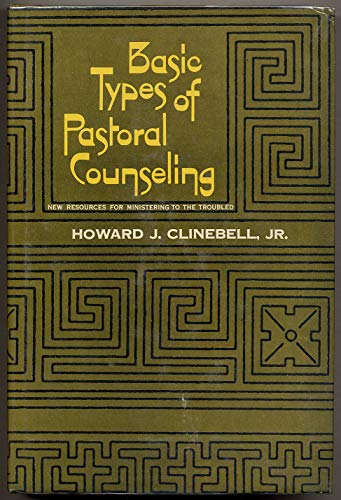 9780687024919: Basic Types of Pastoral Counseling