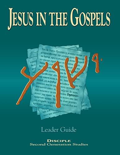 9780687026029: Jesus in the Gospels Leader Guide