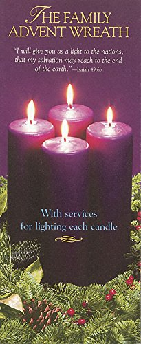 9780687029006: The Family Advent Wreath Three Panel Brochure: Family services for each Sunday in Advent