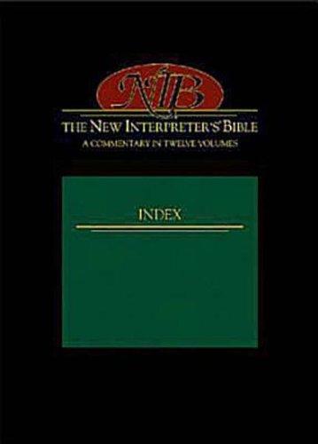 9780687039166: The New Interpreter's Bible Index