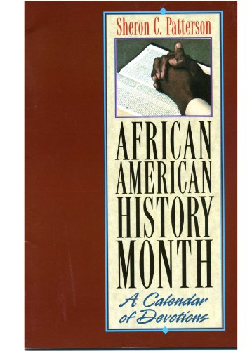 9780687047680: African American History Month: A Calendar of Devotions