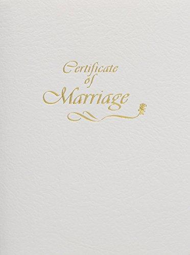 Steel-Engraved Marriage Certificate