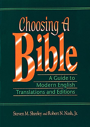 9780687052004: Choosing a Bible: A Guide to Modern English Translations