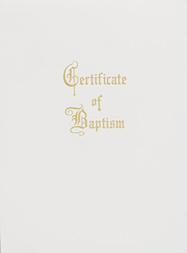 9780687053520: Traditional Steel-Engraved Child Baptism Certificate