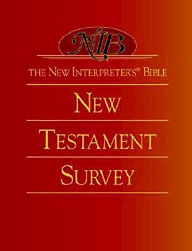 9780687054343: The New Interpreters Bible New Testament Survey