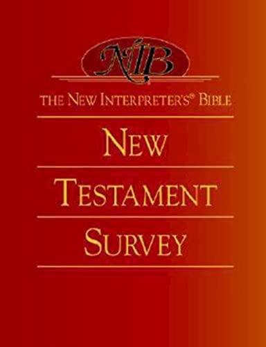 9780687054343: The New Interpreter's® Bible New Testament Survey
