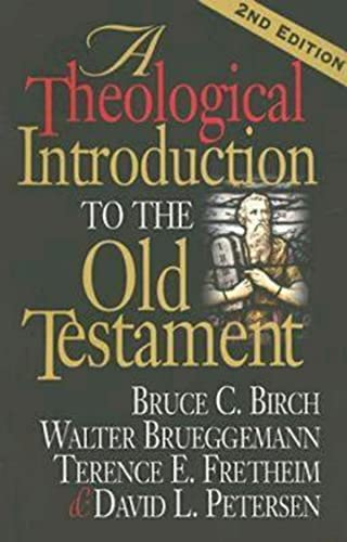 A Theological Introduction to the Old Testament: 2nd Edition (9780687066766) by Birch, Bruce C.