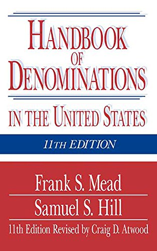 9780687069835: Handbook of Denominations in the United States
