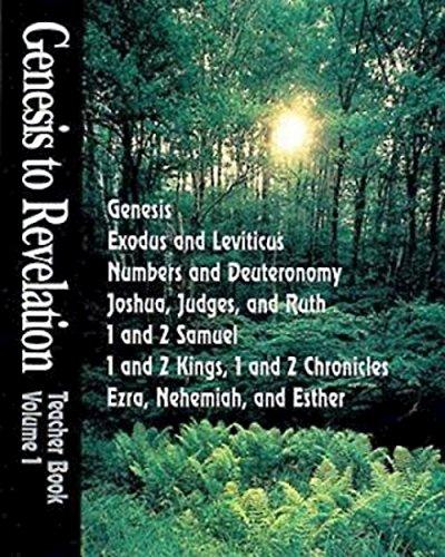 9780687072590: Genesis to Revelation Volume 1: Genesis - Esther Teacher Book
