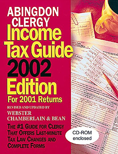 Abingdon Clergy Income Tax Guide, 2002 Edition: For 2001 Returns: Watkins, Charles M.