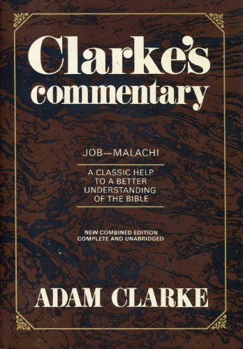 9780687091201: Clarkes Commentary