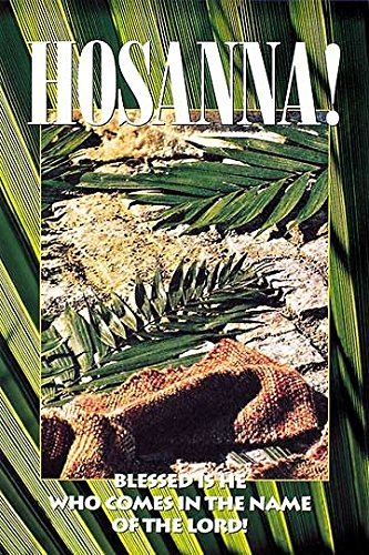 9780687091485: Palm Sunday Church Bulletins, Regular Size (Package of 50)