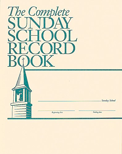 9780687093281: The Complete Sunday School Record Book