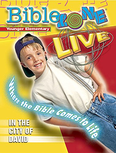 9780687093434: Abingdon's Bible Zone Live Where the Bible Comes to Life In the City of David Younger Elementary (Abingdon's Bible Zone Live)