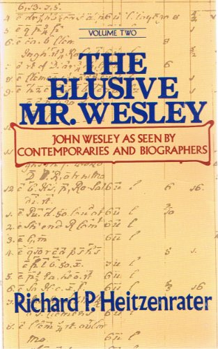 9780687115549: 001: The Elusive Mr. Wesley (Journeys in Faith) (2 Volumes)