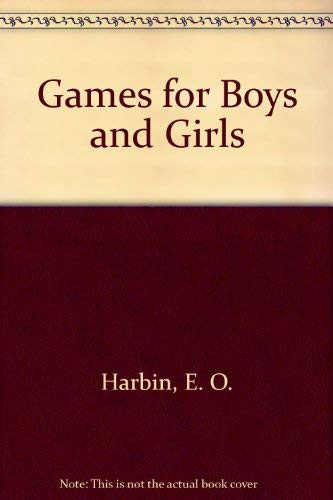 9780687139644: Games for Boys and Girls