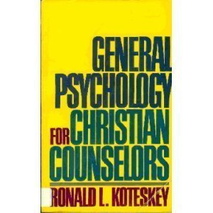 9780687140442: General psychology for Christian counselors