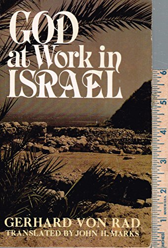 9780687149605: God at work in Israel