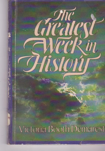 The greatest week in history: Demarest, Victoria Booth-Clibborn
