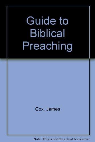 9780687162307: Guide to Biblical Preaching