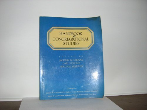 9780687165629: Handbook For Congregation Student Paper
