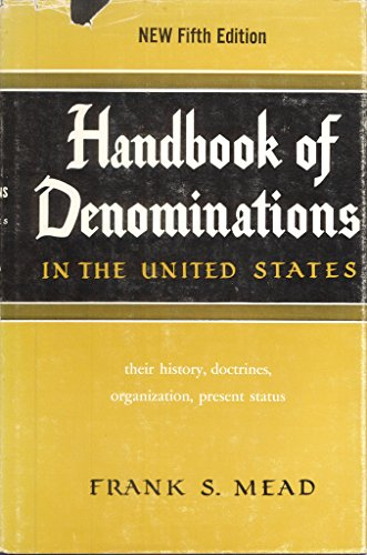 9780687165681: Handbook of Denominations in the United States