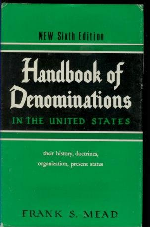 9780687165698: Handbook of Denominations in the United States