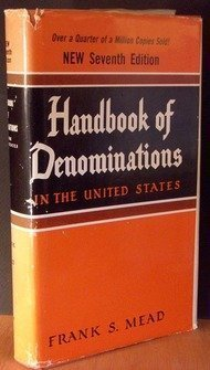 9780687165704: Handbook of denominations in the United States