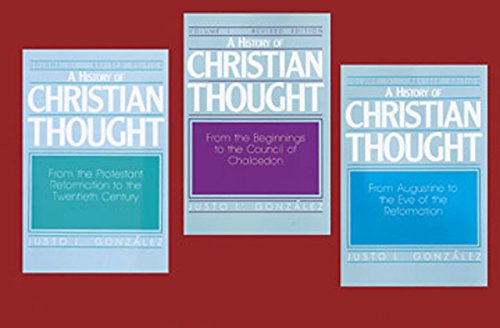 9780687171859: A History of Christian Thought (3 Volume Set)