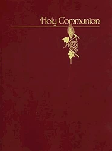 9780687173075: Holy Communion (Supplemental Worship Resources)