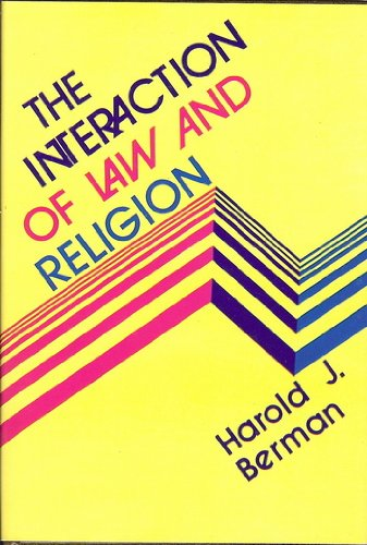 9780687191277: The interaction of law and religion