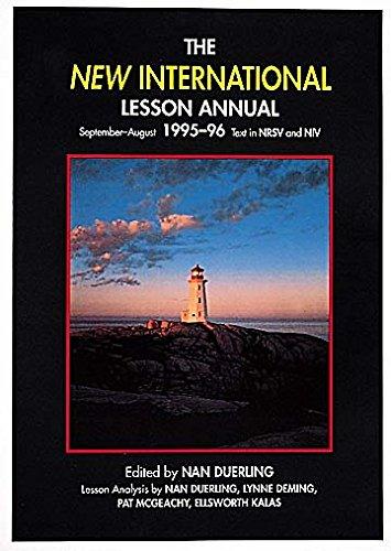 9780687191598: New International Lesson Annual 1995-96