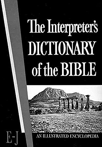 Interpreters Dictionary Of The Bible Volume 2 E To: George A Buttrick