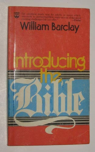 9780687194889: Introducing the Bible