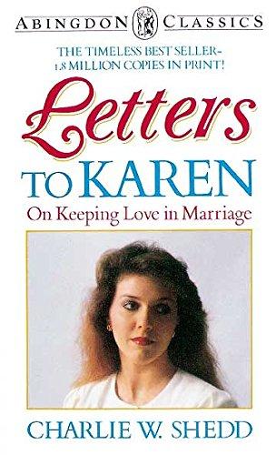 9780687215652: Letters to Karen (Abingdon Classics)