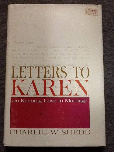 9780687215683: Letters to Karen: on keeping love in marriage