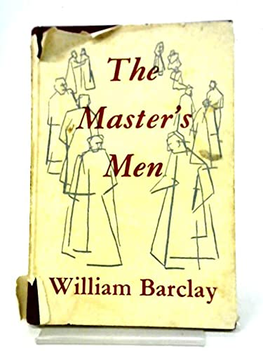 9780687237319: The Master's Men: Character Sketches of the Disciples