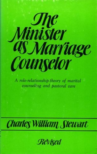 minister as marriage counselor