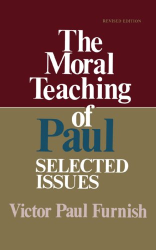 9780687271818: The Moral Teaching of Paul: Selected Issues