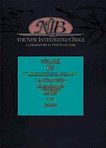 9780687278176: New Interpreter's Bible: 1 & 2 Maccabees, Job, Psalms (Volume 4)