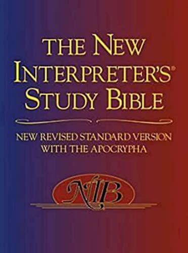 9780687278329: The New Interpreter's Study Bible: New Revised Standard Version With the Apocrypha