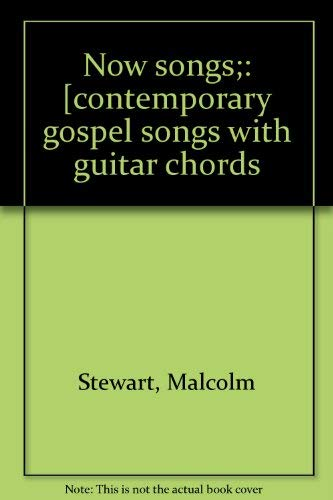 9780687282111 Now Songs Contemporary Gospel Songs With Guitar