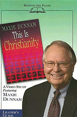 9780687333332: This Is Christianity - Video Study Leader's Guide (Behind the Pages)