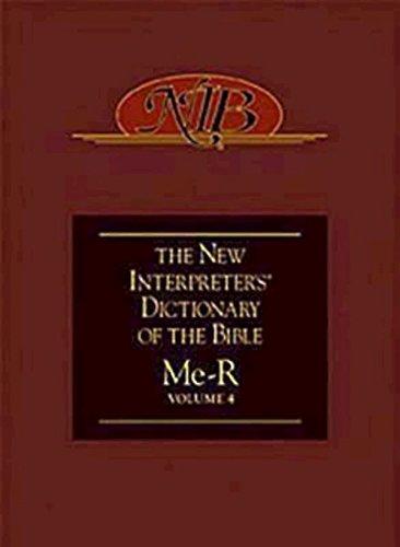 9780687333752: New Interpreter's Dictionary of the Bible Volume 4 - NIDB