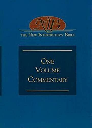 9780687334117: The New Interpreter's Bible One-Volume Commentary