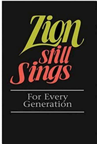 9780687335275: Zion Still Sings For Every Generation Pew Edition
