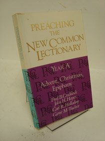 9780687338511: Preaching the New Common Lectionary Year A: Advent, Christmas, Epiphany