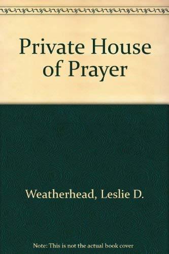 9780687342204: Private House of Prayer
