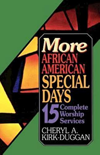 9780687343645: More African American Special Days: 15 Complete Worship Services