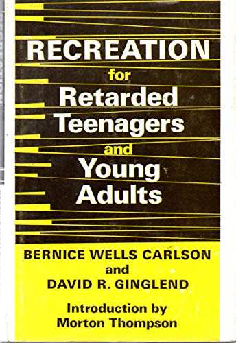 9780687358304: Recreation for Retarded Teenagers and Young Adults